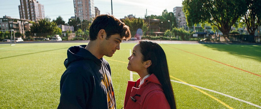Field of Dreams: Peter (Noah Centineo) and Lara Jean (Lana Condor) in  To All the Boys I've Loved Before