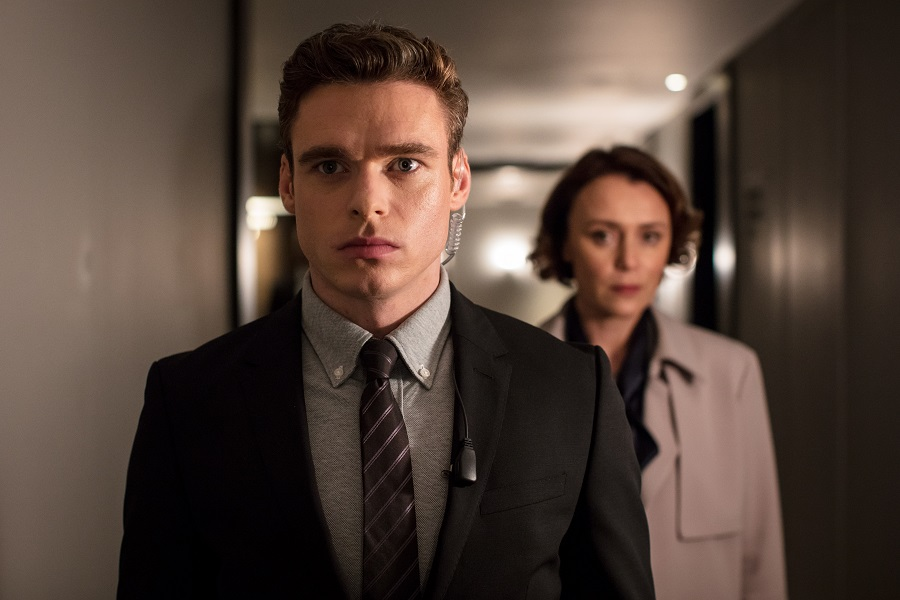 Parliamentary Privilege: Richard Madden (David) and Keeley Hawes (Julia) in  Bodyguard