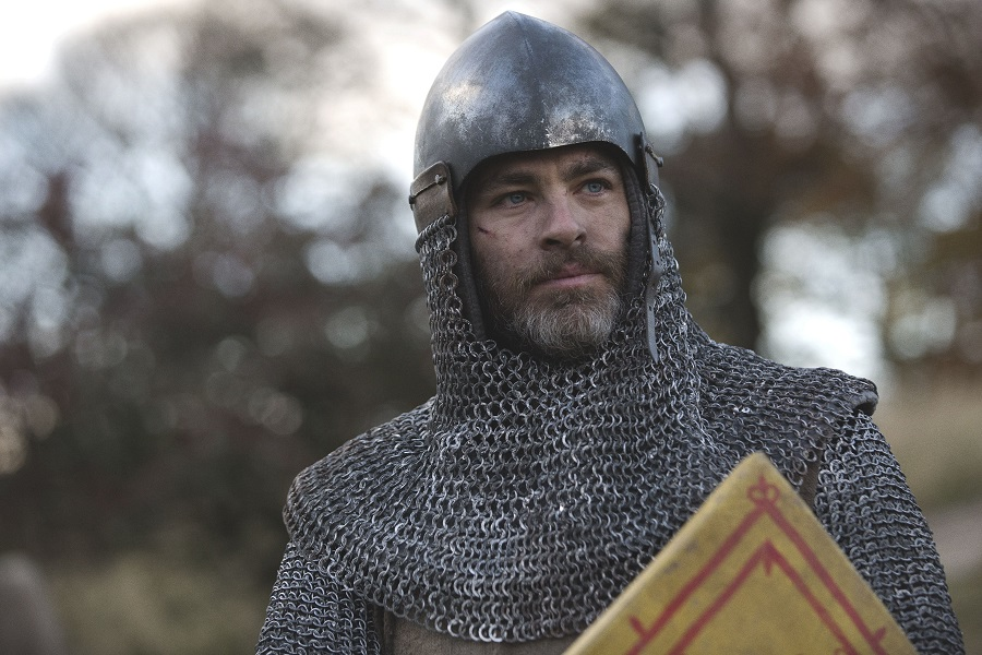 You've Got (Chain) Mail: Chris Pine (Robert the Bruce) in  Outlaw King