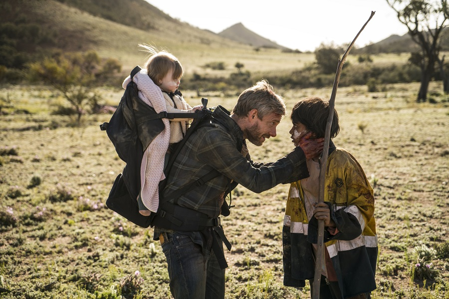 Dead Heart: Martin Freeman (Andy) and Simone Landers (Thoomi) in  Cargo