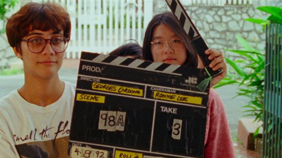 (Lost and) Found Footage: a young Sandi Tan (right) shooting the original  Shirkers
