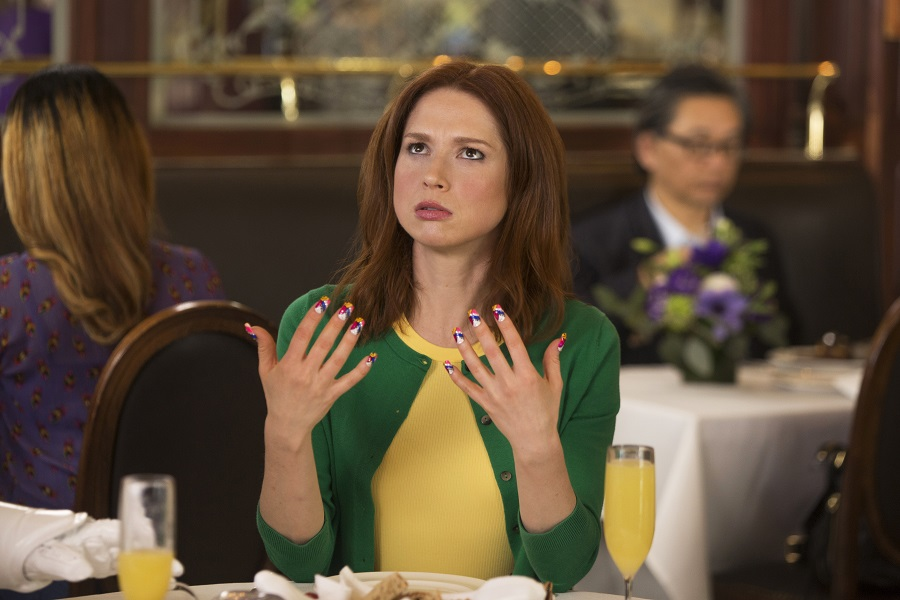 Nailed It: Ellie Kemper (Kimmy) in  The Unbreakable Kimmy Schmidt)