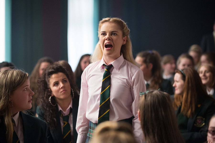 Wonder Years: Saoirse-Monica Jackson (Erin) in  Derry Girls
