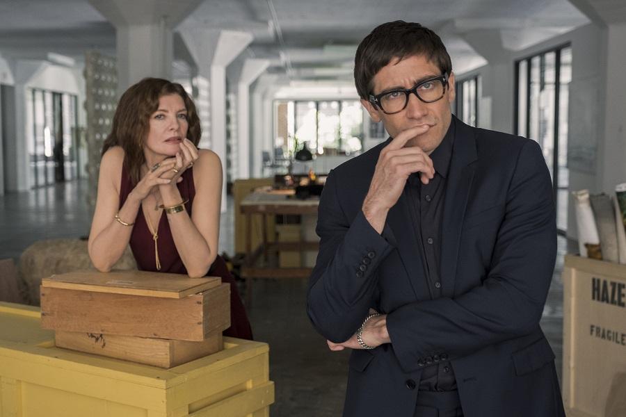 Blank Canvas: Rene Russo (Rhodora) and Jake Gyllenhaal (Morf) in  Velvet Buzzsaw