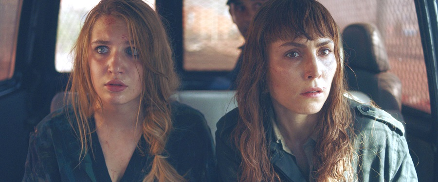 In the Line of Fire: Sophie Nelisse (Zoe) and Noomi Rapace (Sam) in  Close