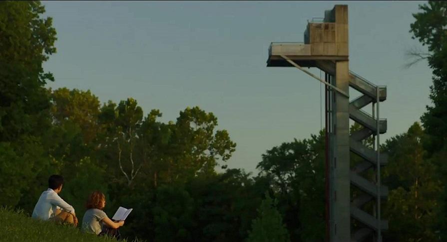Concrete Bond: Jon Cho (Jin) and Haley Lu Richardson (Casey) in  Columbus