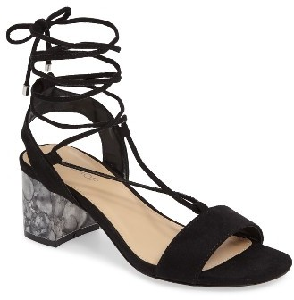 Sandal with Block Heel by Topshop
