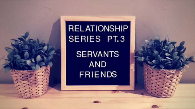 Relationship Series Part #3