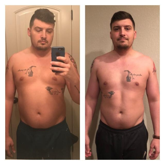 Fitness Before and After