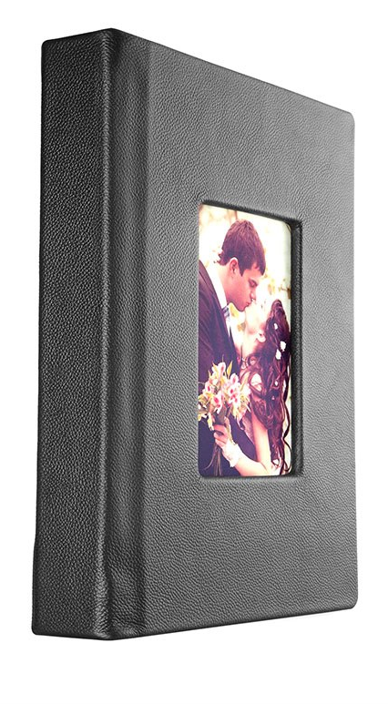 With window insert or plain cover with imprinting - beautiful coffee table book. Leave it open. - -THE BRIDE BOOK - FLUSH MOUNT - WINDOW COVER SHOWN