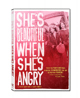 Click  here  to watch a trailer of the film, which is currently available on Netflix.     SHE'S BEAUTIFUL WHEN SHE'S ANGRY resurrects the buried history of the outrageous, often brilliant women who founded the modern women's movement from 1966 to 1971. SHE'S BEAUTIFUL WHEN SHE'S ANGRY takes us from the founding of NOW, with ladies in hats and gloves, to the emergence of more radical factions of women's liberation; from intellectuals like Kate Millett to the street theatrics of W.I.T.C.H. (Women's International Conspiracy from Hell!). Artfully combining dramatizations, performance and archival imagery, the film recounts the stories of women who fought for their own equality, and in the process created a world-wide revolution.   SHE'S BEAUTIFUL WHEN SHE'S ANGRY does not try to romanticize the early movement, but dramatizes it in its exhilarating, quarrelsome, sometimes heart-wrenching glory. The film does not shy away from the controversies over race, sexual preference and leadership that arose in the women's movement. SHE'S BEAUTIFUL WHEN SHE'S ANGRY captures the spirit of the time --- thrilling, scandalous, and often hilarious.  That story still resonates today for women who are facing new challenges around reproductive rights and sexual violence, as the film shows present-day activists creating their generation's own version of feminism. SHE'S BEAUTIFUL WHEN SHE'S ANGRY is a film about activists, made to inspire women and men to work for feminism and human rights.    Click  here  to learn more about the film.