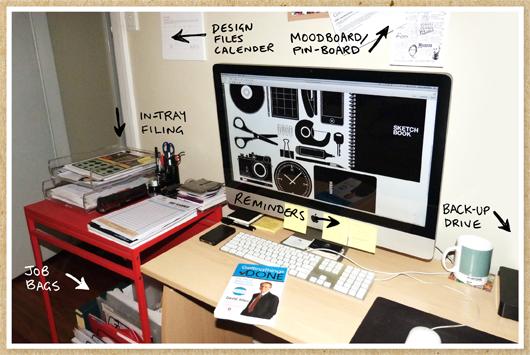 Andrea McArthur's Desk