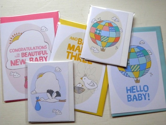 Penny Eager - Pocket Carnival Baby Cards