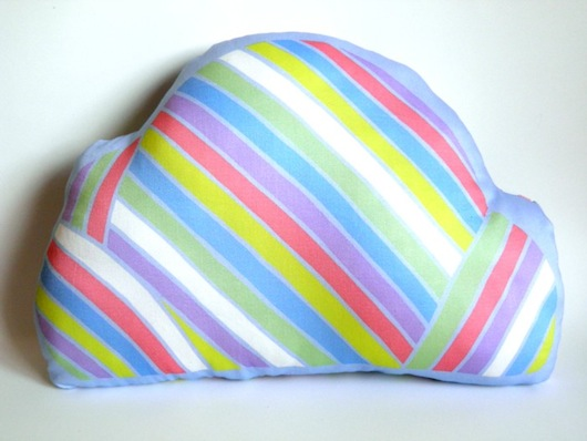 Penny Eager Pocket Carnival Cloud cushion