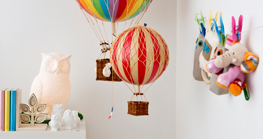 Cute additions to any child's room. Photo - courtesy of Sue Bailey.