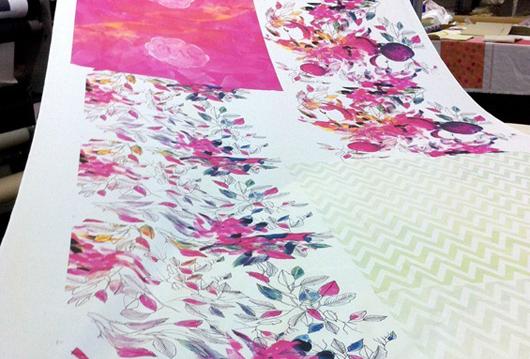 Print 10 metres get 1 free at Frankie & Swiss