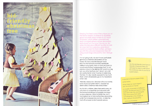 issue 09 kid-friendly-christmas-tree