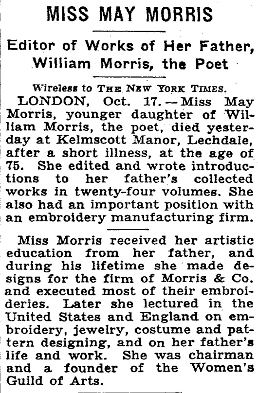 May-Morris-NYT-Obit-1938