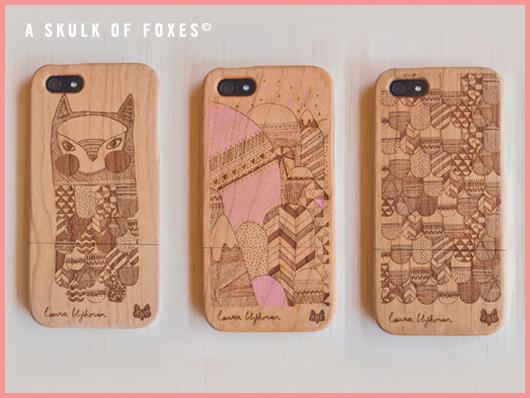 Illustration Skulk of Foxes