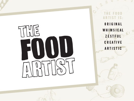 The Food Artist Logo
