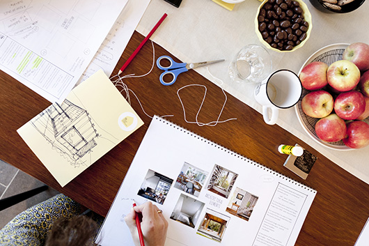 Scrapbooking of a dream home