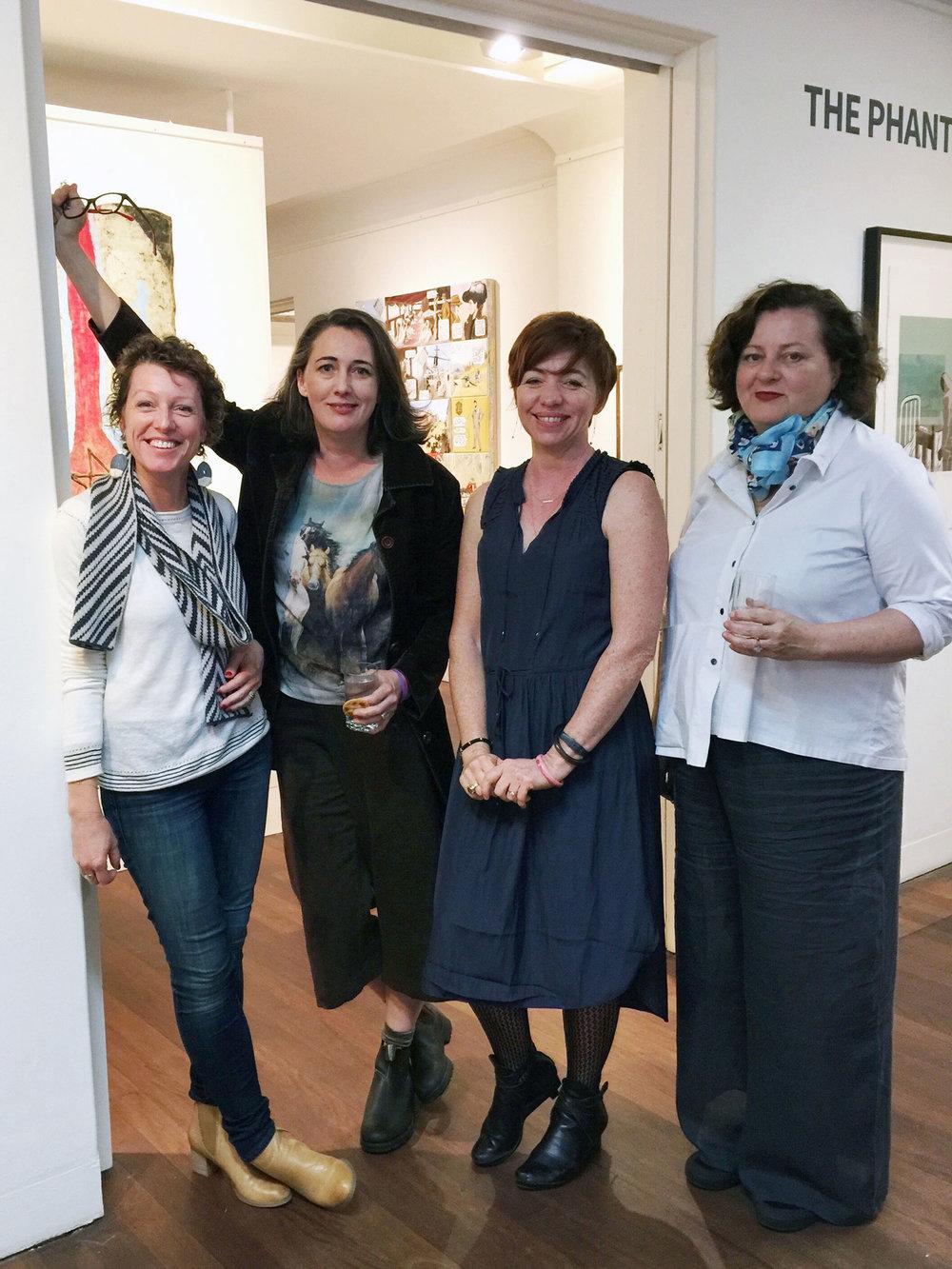 Fiona Chandler, Amy Kersey, Saffron Craig and Amanda Penrose