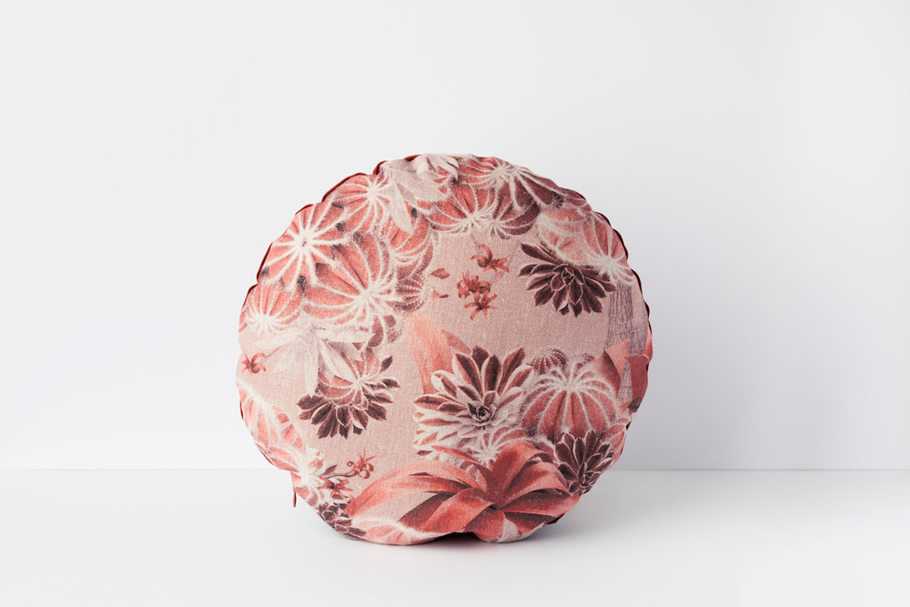 Dreamscape Copper cushion, by Louise Jones Design