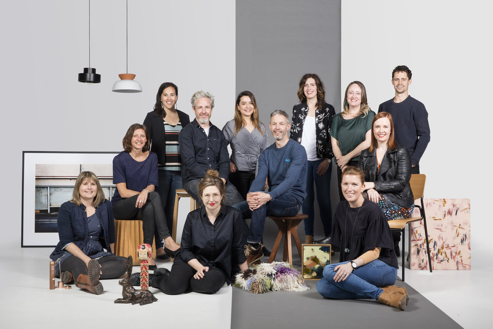 The Design Co-op  cast of designers. Photo:  Elizabeth Bull .