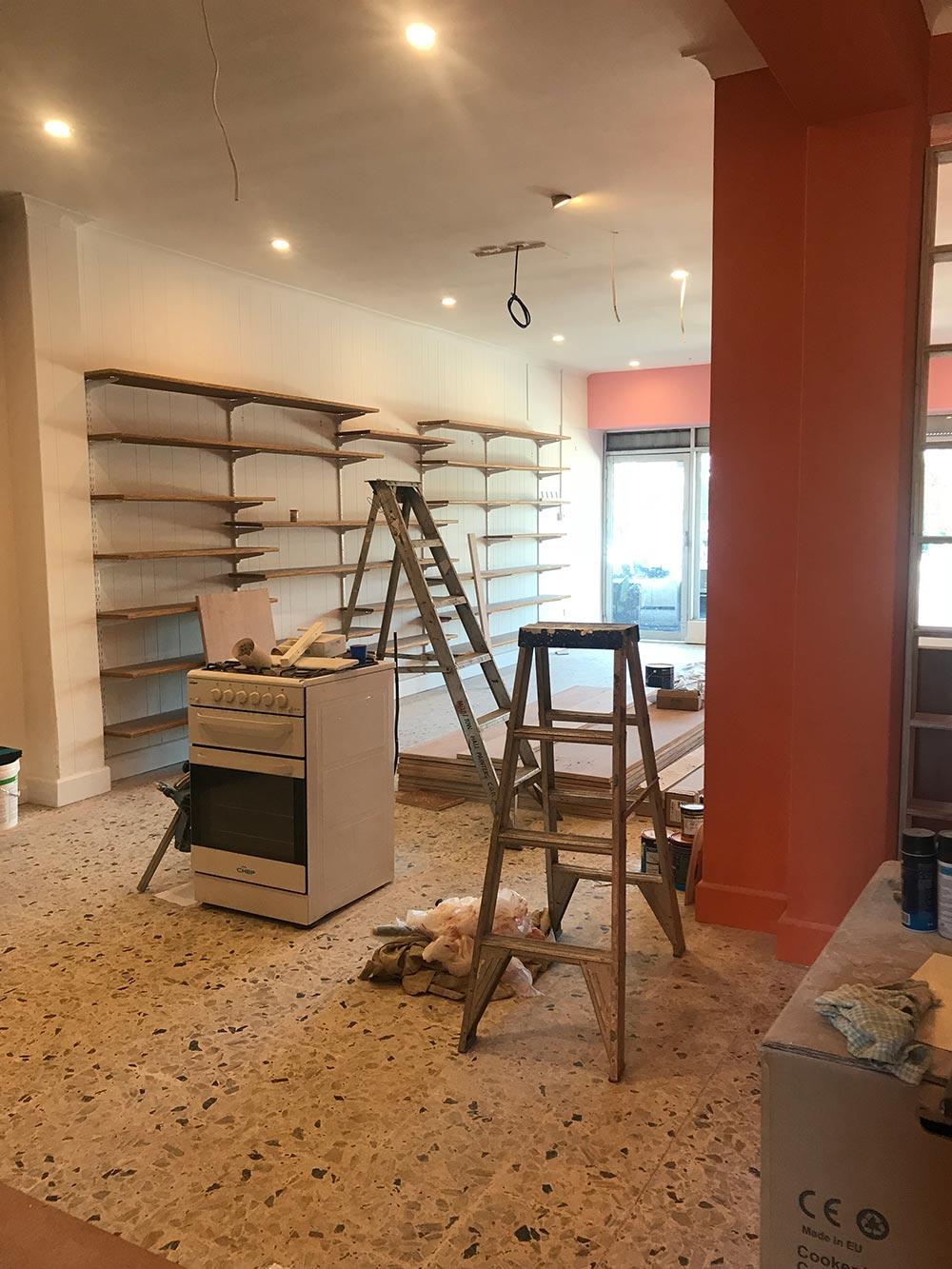 Installation begins