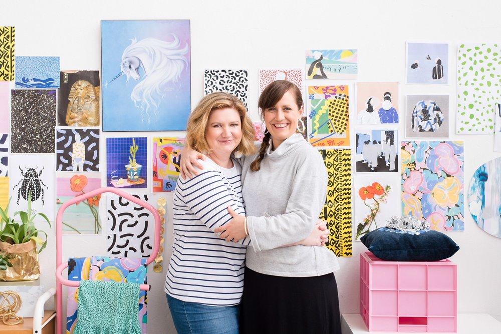 Jess Wright and Lara Davies from Home-Work