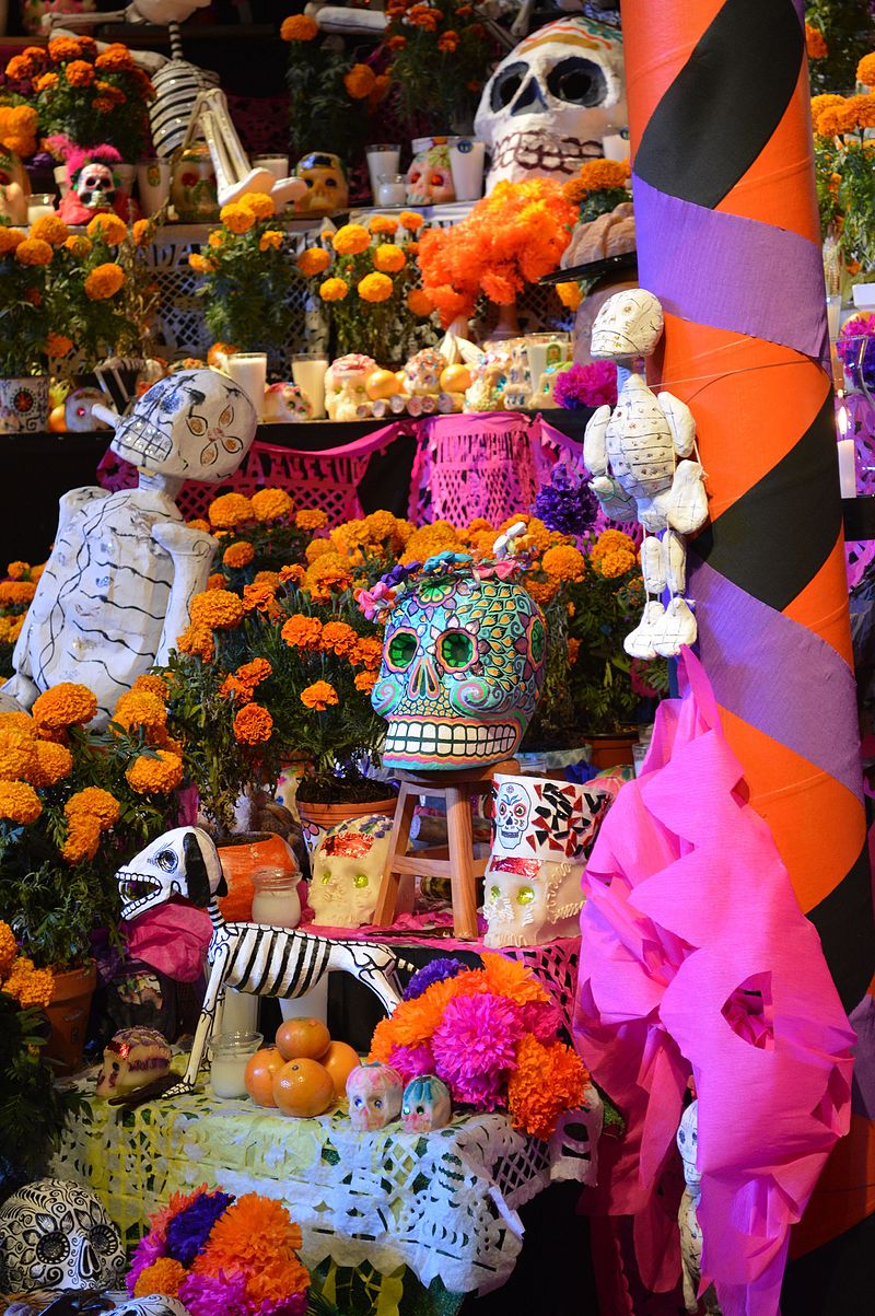About Day Of The Dead John Ubele Artist