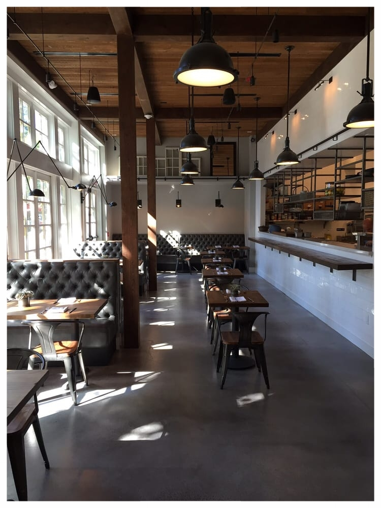 Main dining room at Almanac in Danville