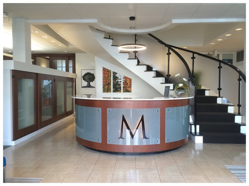 Lobby at McGuire Real Estate San Francisco