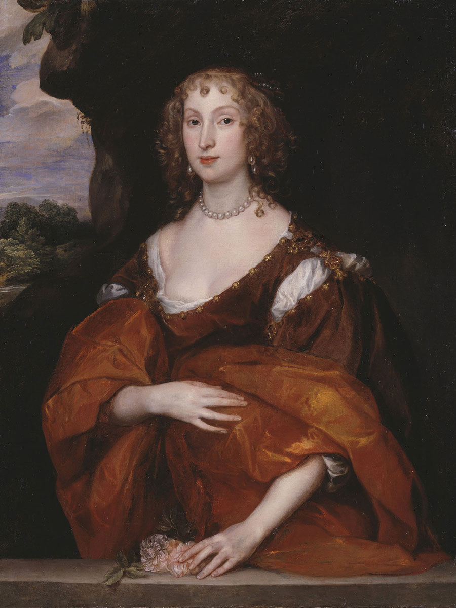 Portrait of Mary Hill, Lady Killigrew   - 1638