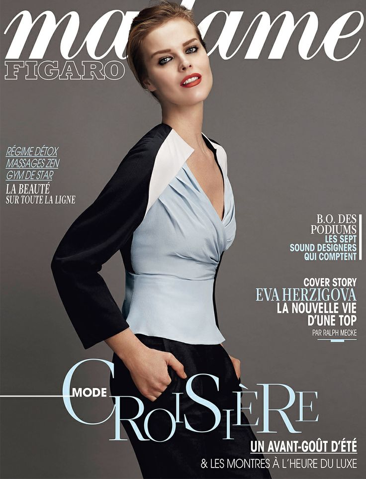 Madame Figaro - January 17th 2014 - Cover.jpg
