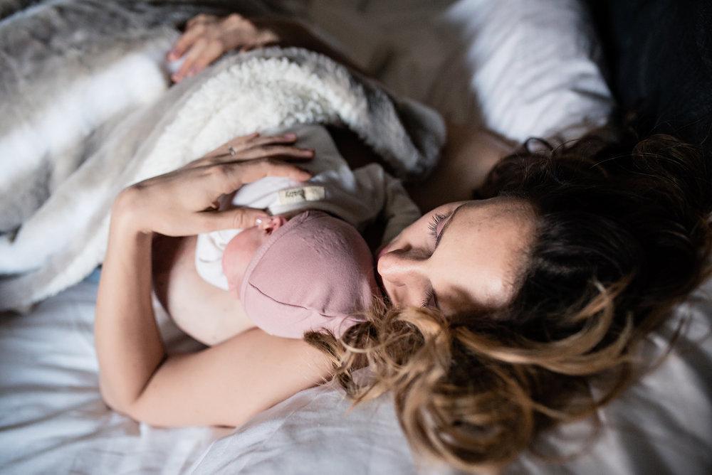 messy raw emotional postpartum