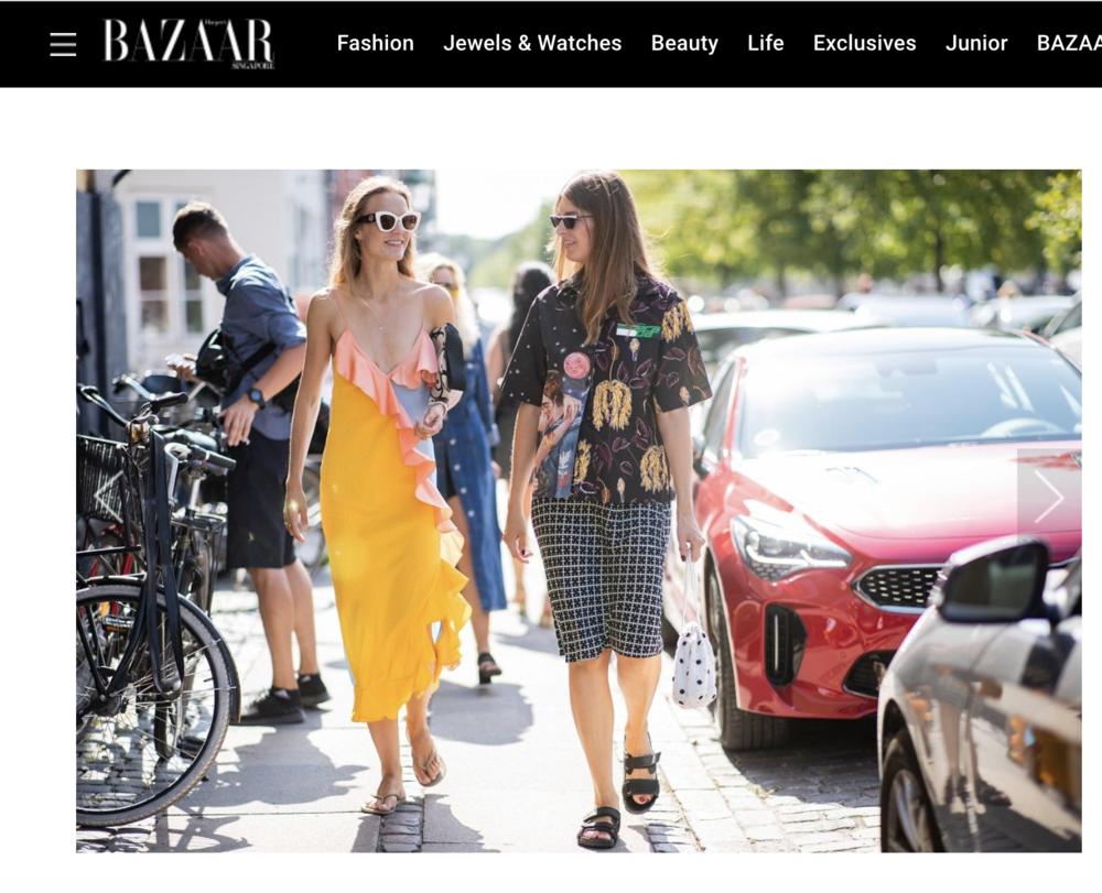 Harper's Bazaar SG - Copenhagen Fashion Week SS19 streetstyleAmanda Collin and Stephanie Gundelach, August 2018