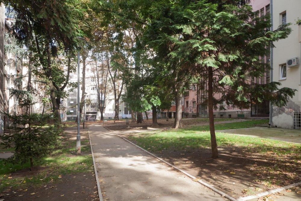 Belgrades Vracar district