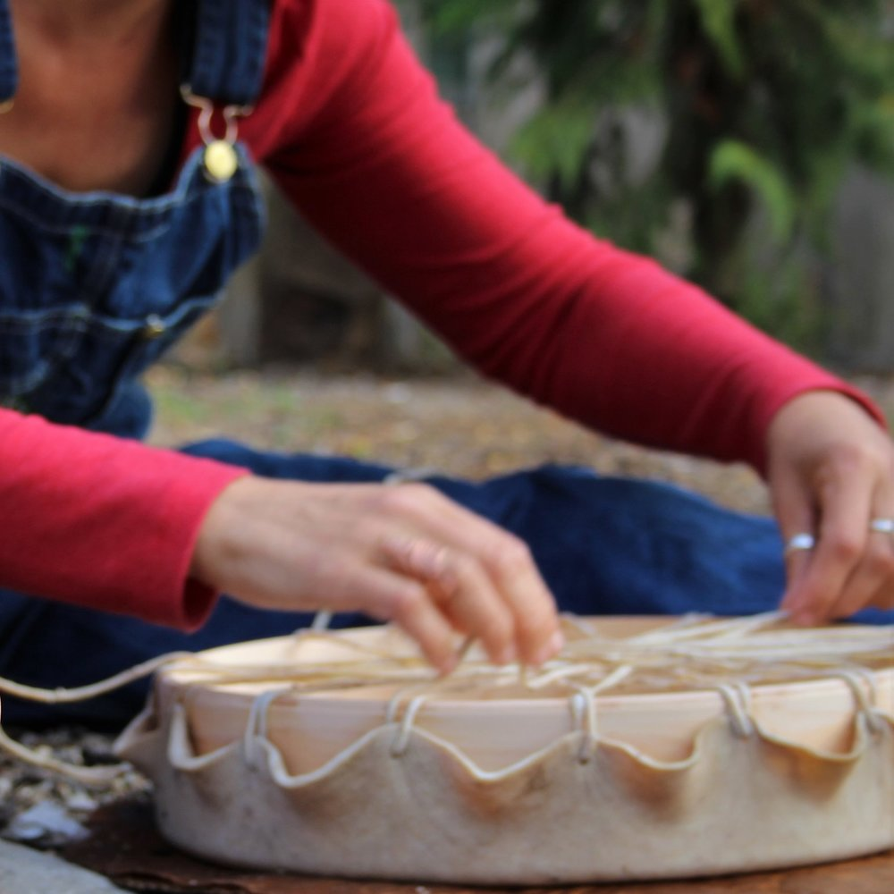 Drum Making Circle - September 22nd & 23rd, 2018$450 plus travel expenses. Online video support series included.