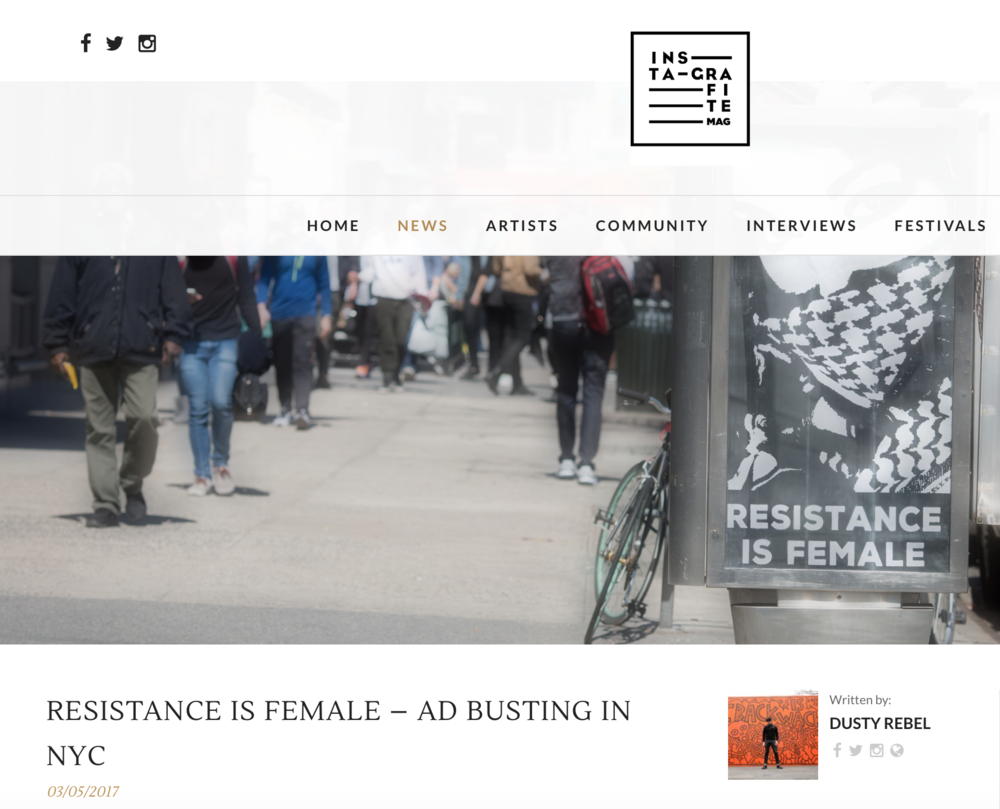 http://instagrafite.com/resistance-is-female-ad-busting-in-nyc/