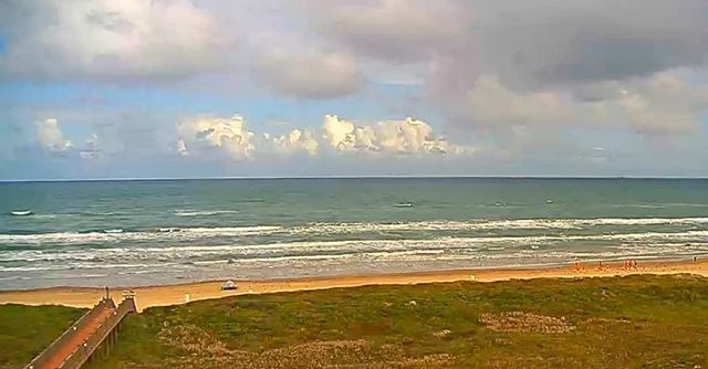 Check out SPI on our Live Webcams! https://www.enjoyspi.com/South-beach-cam/ #spi #enjoyspi #southpadreisland #sopadre #myspi #beachlife