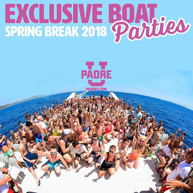 Free Sunset Party Cruise pass ⛴🌅 when you purchase any PadreU Spring Break Package!☀️🌴Book Now! PadreU.com **La Copa Inn South Padre Island is proud sponsor of @padreuniversity • • #springbreaksouthpadre #springbreak #spi #texas #springbreak2018 #padreu #sb18 #padreu2018 #southpadre #southpadreisland #postmalone #ume #guccimane #claytons