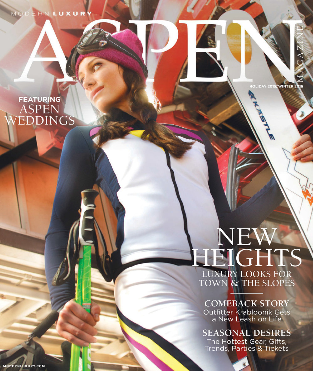 Editor and marketing work: Aspen Magazine's Winter Issue 2015