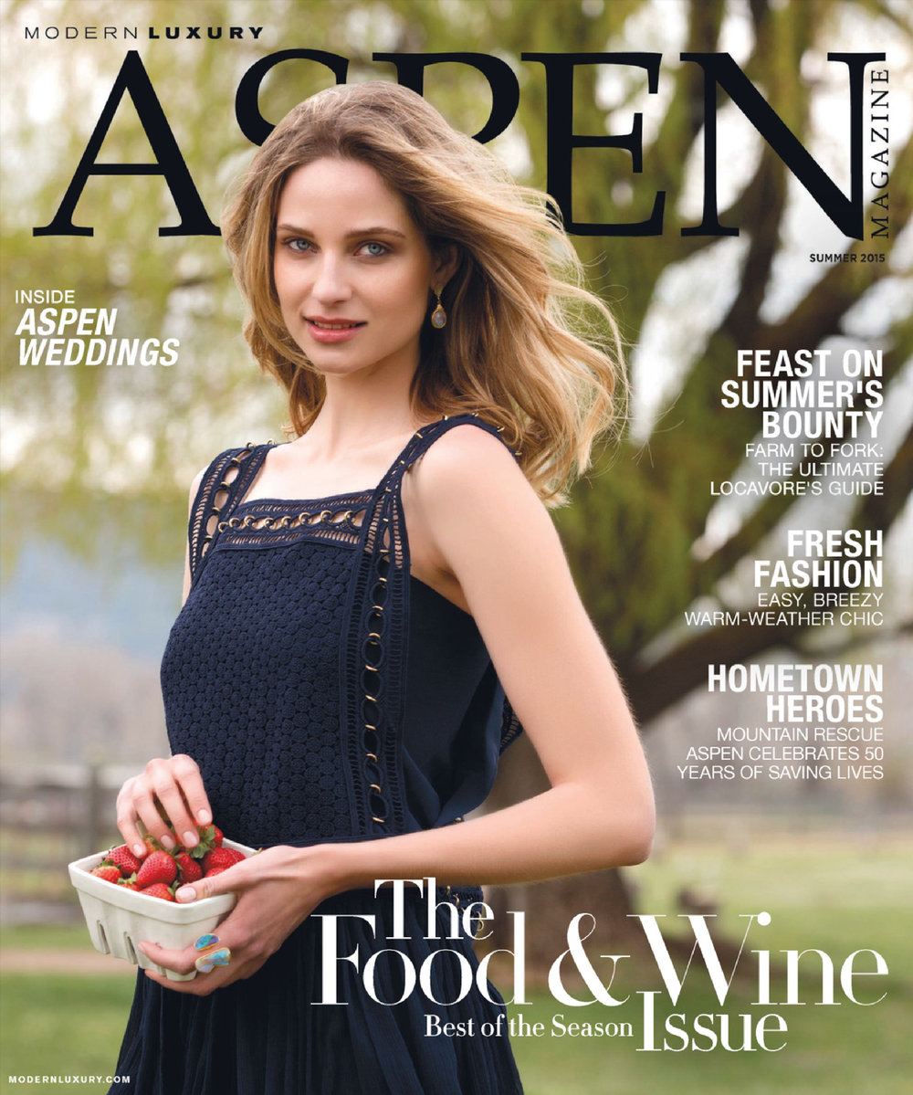 Editor and marketing work: Aspen Magazine's Summer Issue 2015