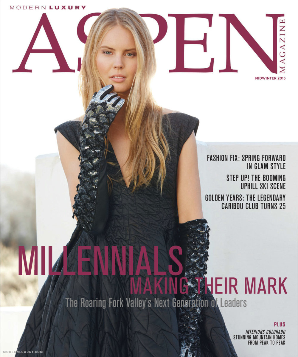Editor and marketing work: Aspen Magazine's Midwinter Issue 2015
