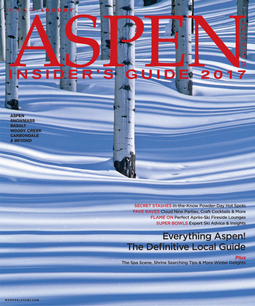Freelance work: Aspen Magazine Insider's Guide 2016/17
