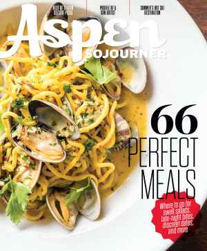 Freelance work: Aspen Sojourner Magazine Summer Issue 2017