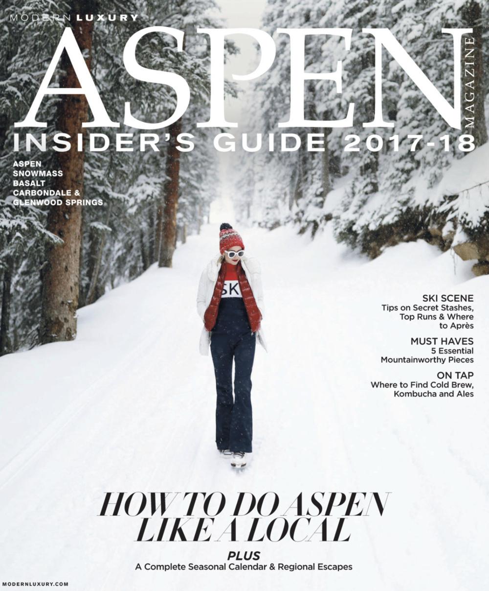 Freelance work: Aspen Magazine Insider's Guide 2017/18