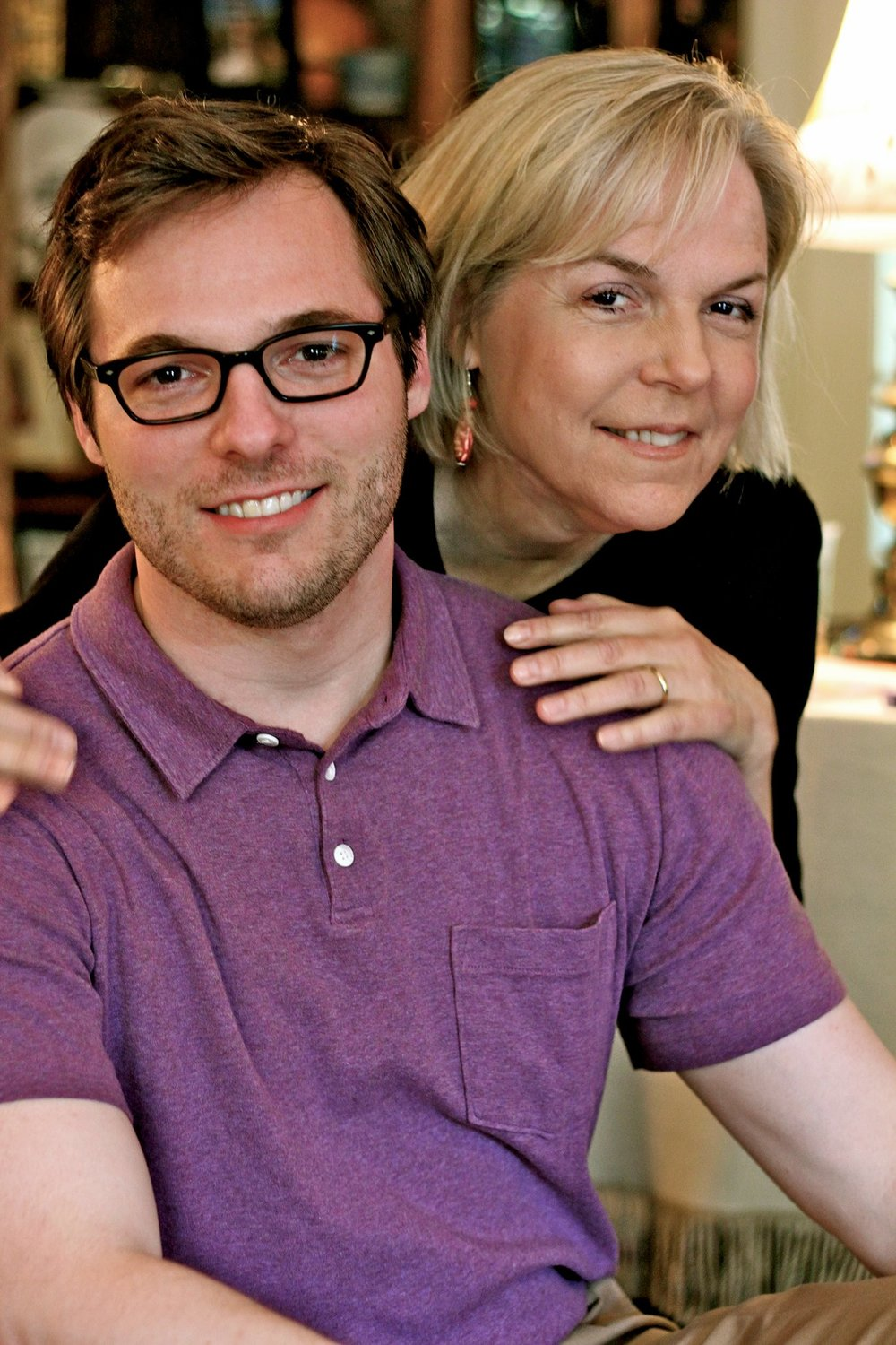DIRECTOR  - Phil Wall (with his mother in 2012)