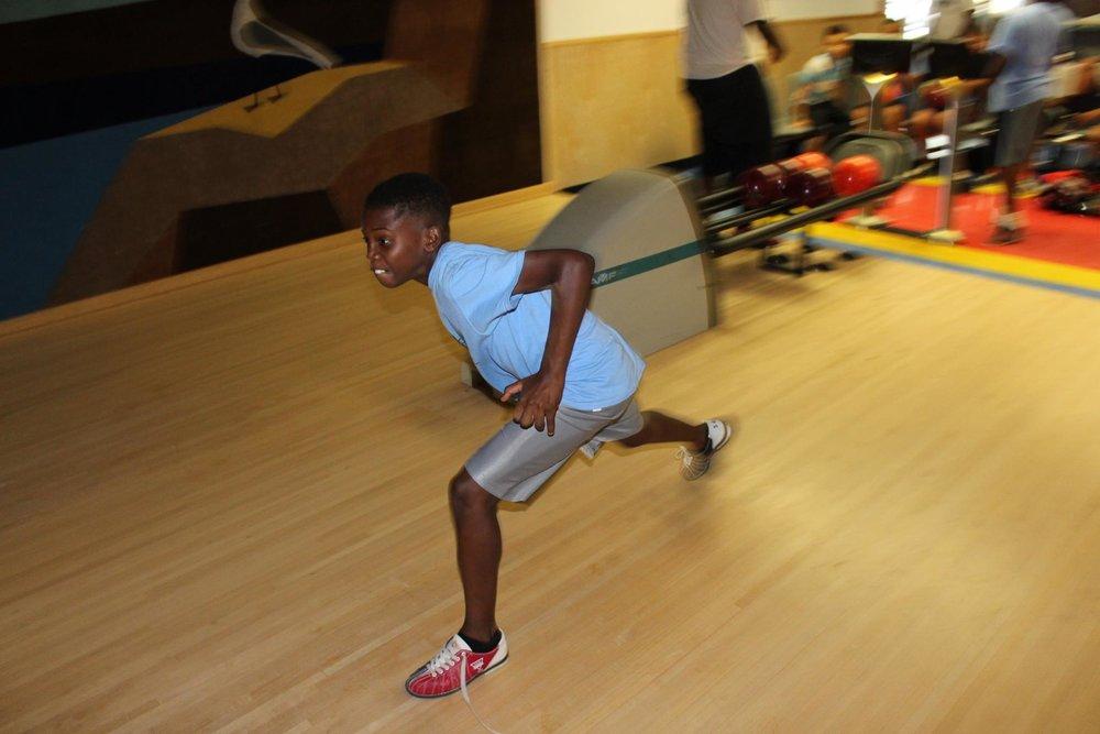 summer campers go bowling carver foundation of norwalk